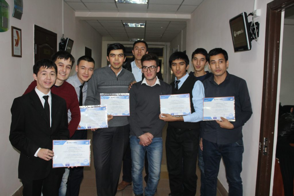BePro IT Academy students