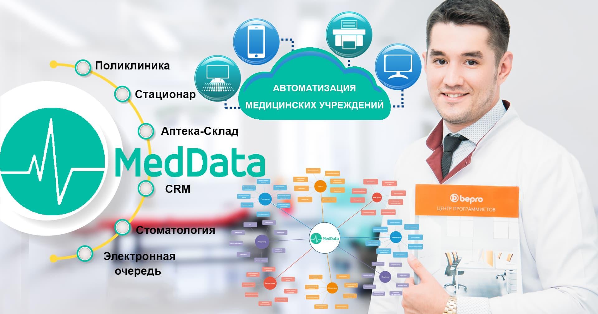 Медицинская информационная система (МИС) — «MedData»