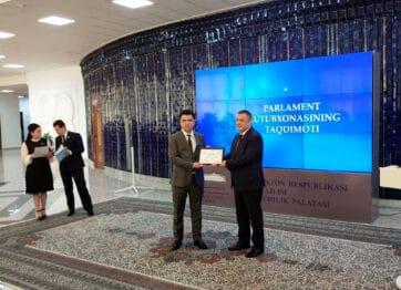 В Законодательной палате Олий Мажлиса создана «Парламентская библиотека»